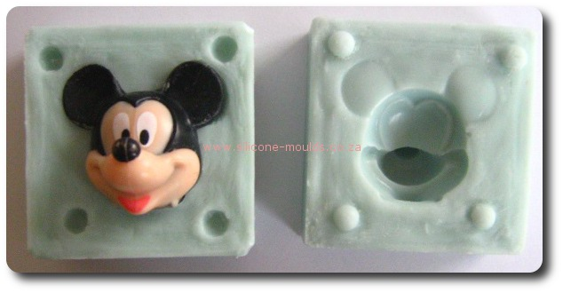 3D mickey mouse-sil